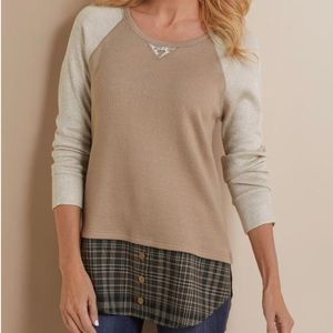 Soft Surroundings Alchemy Thermal Top Large